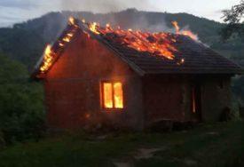 KOMŠIJE UZNEMIRENE Zapaljena kuća Srbina iz Kline