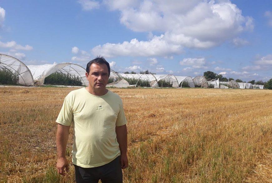 OGROMNE ŠTETE NA USJEVIMA Nevrijeme poharalo Semberiju, poljoprivrednici ZBRAJAJU GUBITKE
