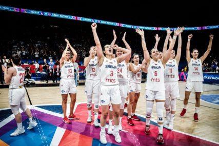 """BRONZANE KOŠARKAŠICE SRBIJE PORUČUJU """"Medalja je uspjeh, ali već razmišljamo o Olimpijskim igrama"""""""