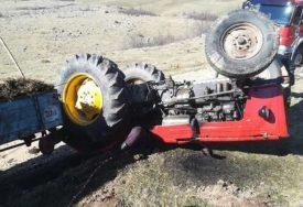 NESREĆA KOD ČELINCA Povrijeđen traktorista