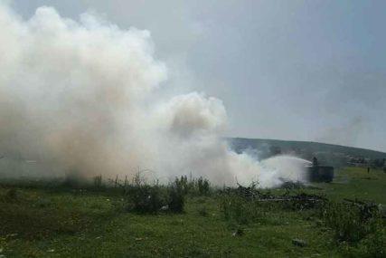 Požar kod Trebinja: Vatra prijetila kućama u Starom Slanom