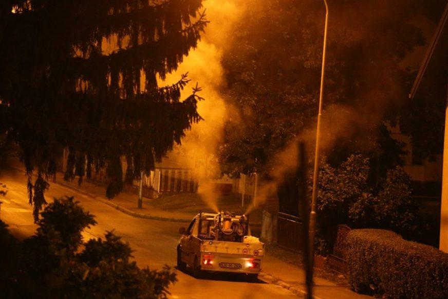 TREĆA SREĆA Večeras zaprašivanje komaraca u osam gradskih naselja