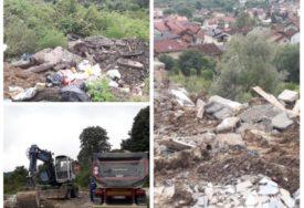 Bacanje građevinskog otpada i namještaja NEMA GRANICE: Uklonjene divlje deponije na Laušu i u Česmi
