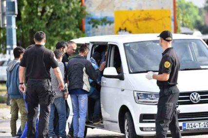 AKCIJA HUMANOG SMJEŠTANJA Grupa migranata prebačena u Ušivak