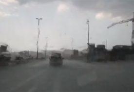 HRVATSKU ZAHVATILO OLUJNO NEVRIJEME Meteorolozi upozoravaju i na NALET BURE (FOTO)