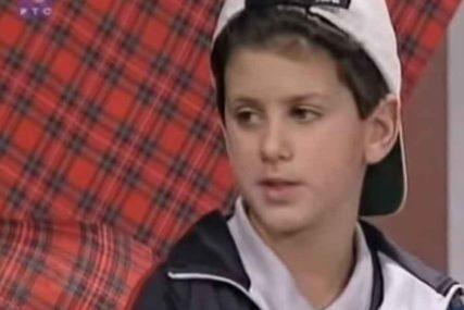 I TADA JE TENIS BIO NJEGOV ŽIVOT Ovako je govorio srpski as kad je bio dječak (VIDEO)