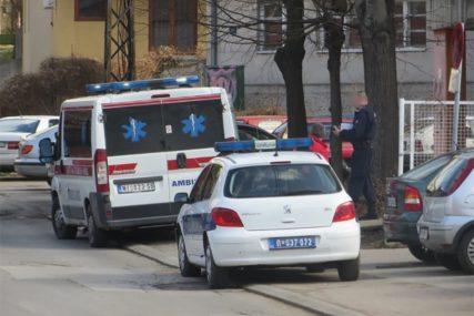 Srećom prošla bez povreda: Djevojka pala sa drugog sprata zgrade