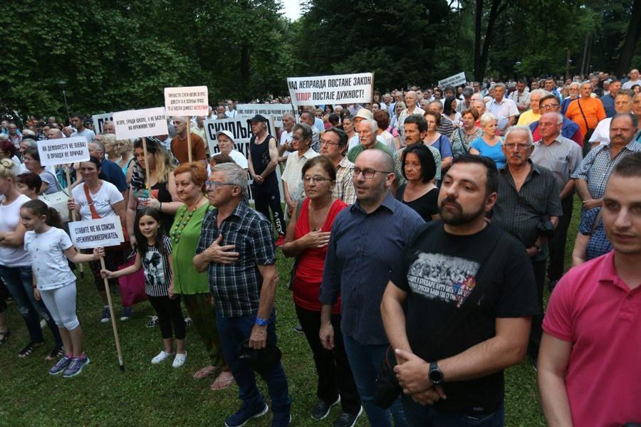 POLICIJA SPREMNA Biće gužve u Parku Mladen Stojanović, odobrena dva skupa u isto vrijeme