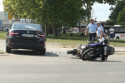 STRAVIČNA NESREĆA KOD BRČKOG Poginuo motorista iz Bijeljine