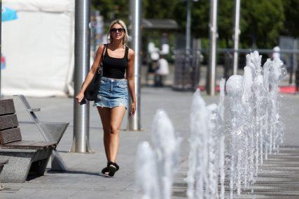 Grmljavina i visoka temperatura: Žuto upozorenje za cijelu BiH, savjetuje se oprez