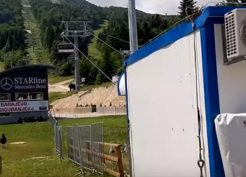 """NEPRIJATNO ISKUSTVO Zbog nestanka struje na Bjelašnici posjetioci """"VISILI"""" NA ŽIČARI"""