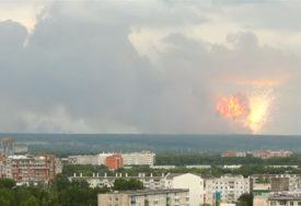 INCIDENT Snimak eksplozije u Sibiru koji podsjeća na ATOMSKU BOMBU (VIDEO)