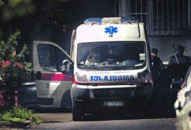 Van životne opasnosti: Troje povređenih u udesu u Užicu, među njima DIJETE I TRUDNICA