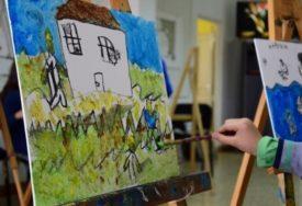 Škola crtanja za djecu, u organizaciji UDAS, nastavlja s radom