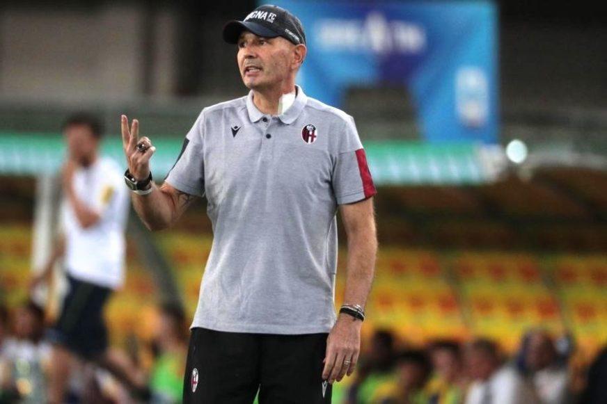 APSOLUTNI RATNIK Mihajlović vodio trening Bolonje