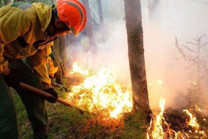 GORJELA ŠUMA I RASTINJE Pod kontrolom veliki požar kod Konjica