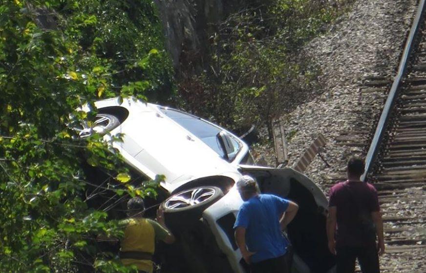 BMW nakon sudara SLETIO NA PRUGU, a onda je uslijedila DRAMA