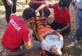 AKCIJU OTEŽAVA LOŠE VRIJEME U toku spasavanje povrijeđenog planinara sa Prenja
