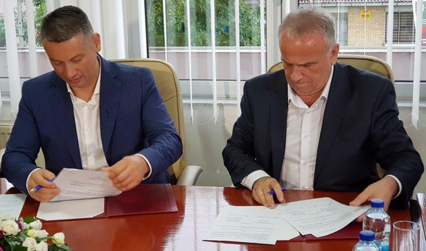 UGOVOR O ZAJEDNIČKOM ULAGANJU Za rekonstrukciju dionice Tedin Han - Križ šest i po miliona KM