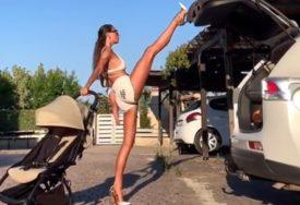ANA DOMINIRA U TERETANI Ruska ljepotica zaludila Instagram (VIDEO)
