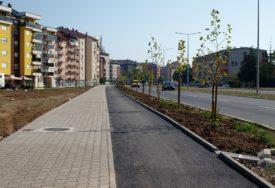 Završene biciklističke staze uz novi dio Istočnog tranzita