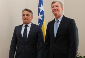 SASTANAK KOMŠIĆA I BERTONA Evroatlantske integracije prioritet BiH