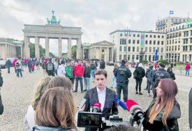 """ANA BRNABIĆ IZ BERLINA PORUČUJE """"Ne očekujem mekši stav Njemačke oko Kosova"""""""