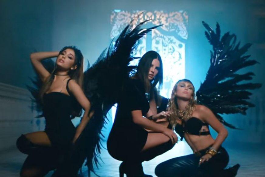 """Ariana Grande, Majli Sajrus i Lana Del Rej pjesmom najavile """"Čarliejeve anđele"""" (VIDEO)"""