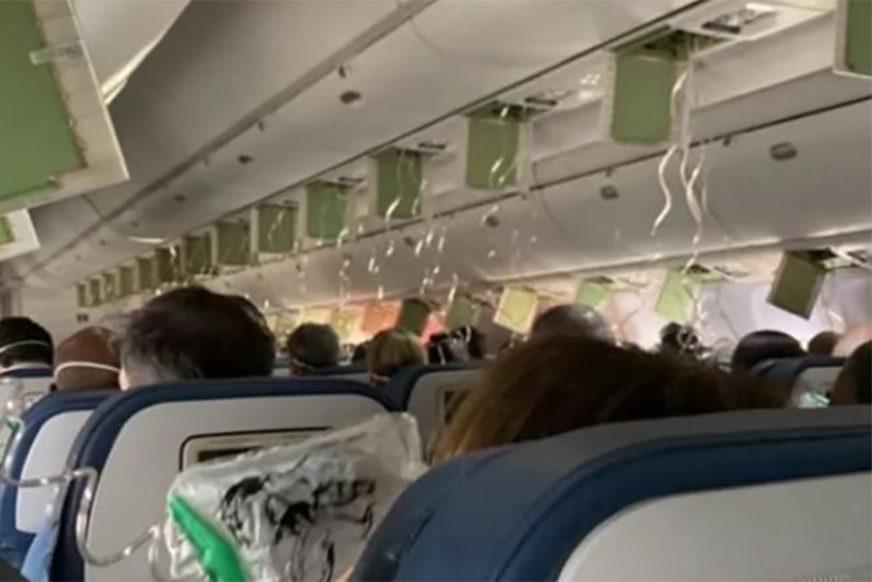 SEDAM MINUTA STRAHA Avion tokom leta PROPAO skoro 9.000 metara (VIDEO)