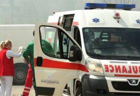 U UDESU POVRIJEĐENA JEDNA OSOBA Teška saobraćajna nesreća na magistralnom putu Foča - Sarajevo