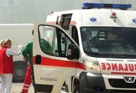 AUTOBUS POKOSIO PJEŠAKA Nesrećna žena hitno prevezena na neurohirurgiju