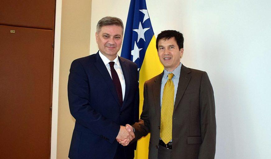 """ZVIZDIĆ SA PREDSTAVNIKOM MMF """"Međusobna saradnja višestruko značajna za BiH"""""""