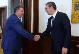 NOVI SASTANAK Dodik sutra odlazi kod Vučića