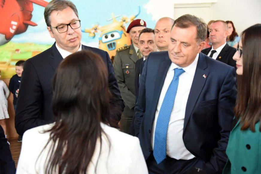 Dodik: Srbija i Srpska su uz Drvarčane