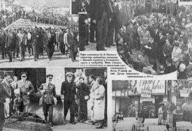 NA IZGRADNJI PRUGE UČESTOVALO 4000 RADNIKA Prije 80 godina u Foču stigao prvi voz