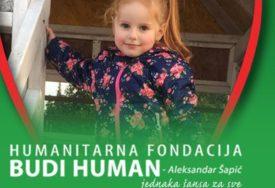 HELENA BIJE BITKU SA TEŠKOM BOLESTI Za liječenje male Fočanke (4) potrebno 546.000 evra