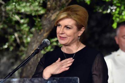 """""""NEMAM NAMJERU DA SE IZVINJAVAM"""" Predsjednica Hrvatske poručila da će ZAPJEVATI PONOVO"""