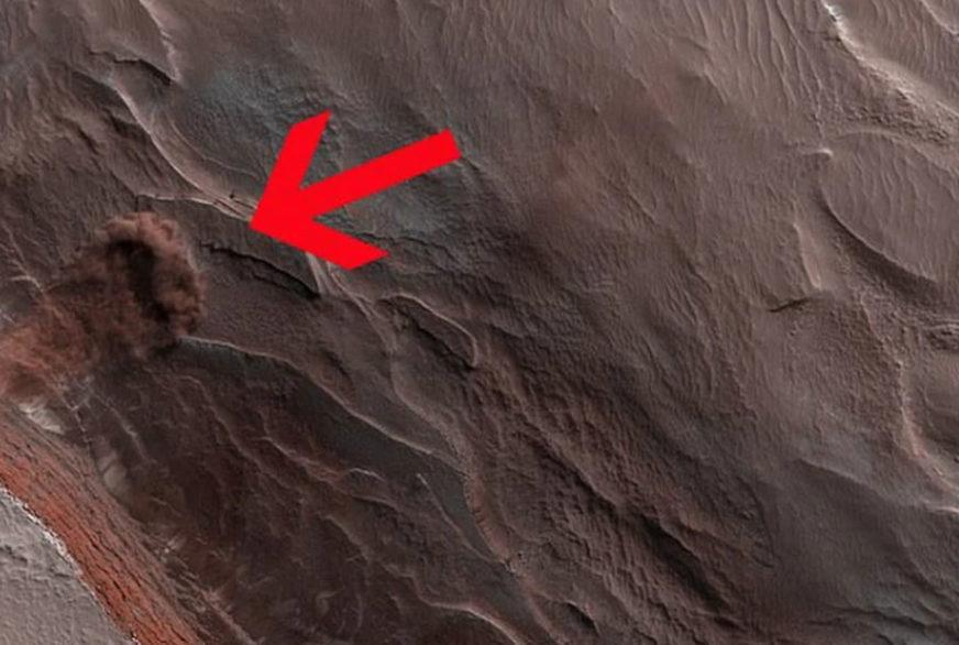 PROLJEĆE NA MARSU Oblak prašine otkrio dramatičan događaj na Crvenoj planeti