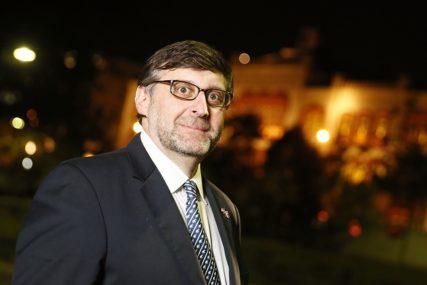 """""""Dobro je što nas još nisu okrivili za ubistvo Franca Ferdinanda"""" Ruska ambasada u BiH oštro reagovala na izjave Palmera"""