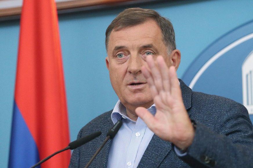 """Dodik: Ako hoće da prave """"Republiku BiH"""" ne mogu da računaju ni na jedan pedalj RS"""