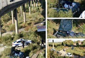 UKLETO MJESTO Tamo gdje se dvoje mladih survalo sa mosta, ranije su PADALI ŠLEPERI I AUTOMOBILI