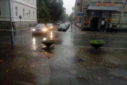 U BiH za sutra izdato narandžasto upozorenje zbog intenzivnijih padavina