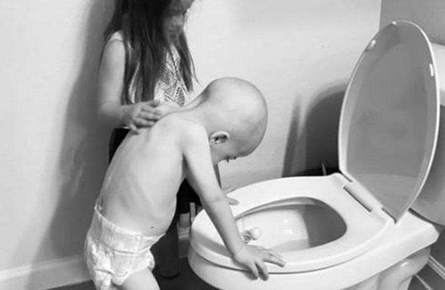 RASPLAKALI SU CIJELI SVIJET Sestra mazi brata kome je pozlilo od hemoterapije (FOTO)