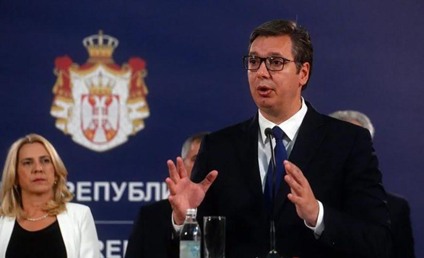 PROTOK ROBE, KAPITALA, USLUGA I LJUDI Vučić: Želim Prištinu, Podgoricu i Sarajevo u inicijativi