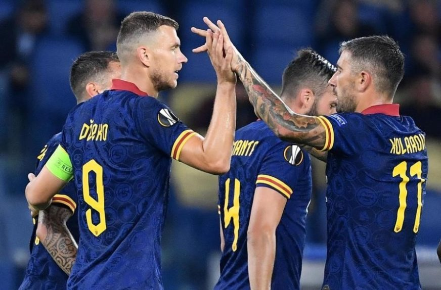 LIGA EVROPE Pogađali Džeko i Ljajić, debakl CSKA