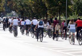 BANJALUKOM VLADALI BICIKLISTI Obilježen Dan bez automobila (FOTO)
