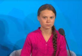"""""""MORAŠ PORADITI NA BIJESU"""" Greta Tunberg napravila parodiju od Trampove izborne reakcije"""