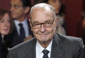 Umro bivši predsjednik Francuske Žak Širak