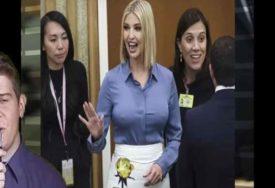 I MODNOJ IKONI SE DOGODI GAF Kćerka Donalda Trampa u UN pokazala nešto što NIJE SMJELA (VIDEO)