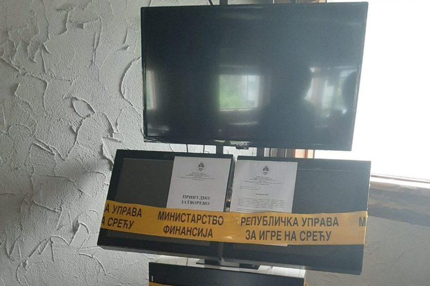 NELEGALNO KOCKANJE Zaplijenjeni aparati u Banjaluci